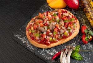 Πίτσα ατομική νηστίσιμη