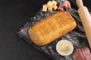 Κρουασάν μπέικον με τυρί τ. Φιλαδέλφεια